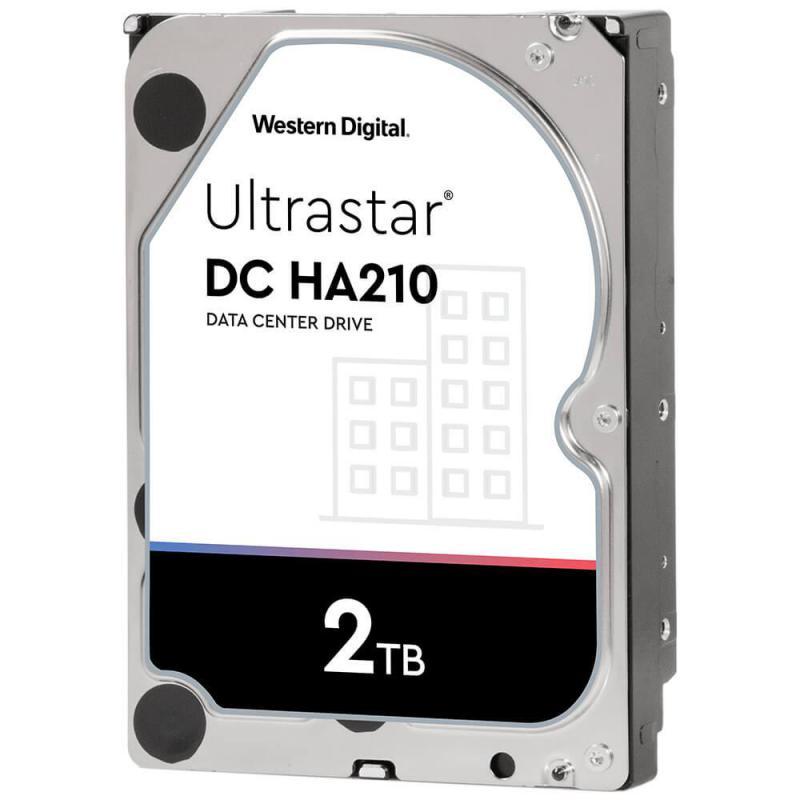 """WD Ultrastar DC HA210 HUS722T2TALA604 2TB 3.5"""" 512n SATA3 Hard Drive"""